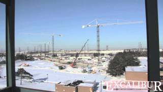 Video Tour of the Construction on the Pan Am Athletic Stadium