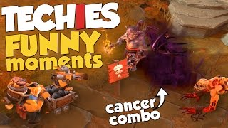 DotA 2 - Techies Funny Moments - LLS Cancer Combo + TECHIES ARCANA GIVEAWAY!