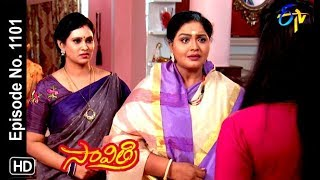 Savithri | 10th October 2018 | Full Episode No 1101| ETV Telugu