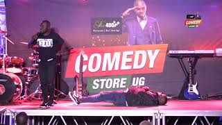 Alex Muhangi Comedy Store(The400) Nov17 - MADRAT & CHIKO Busoga thumbnail