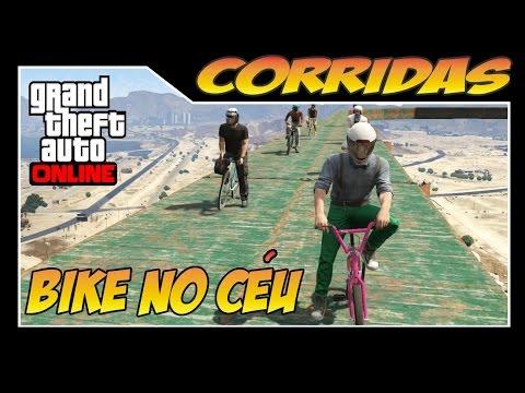 GTA ONLINE - Corridas Mortais - Corrida mais perigosa de TODAS!! no Céu tem BIKE?