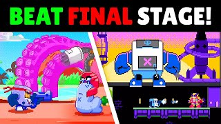 BEAT FINAL STAGE! in HIDDEN Brawl Stars 8-Bit Mini game