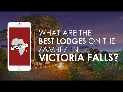 What are the best lodges on the Zambezi near Victoria Falls? - Rhino Africa's Travel Tips