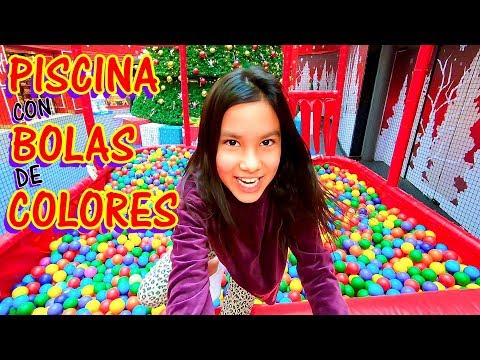 PISCINA LLENA DE BOLAS DE COLORES  | AnaNana Toys