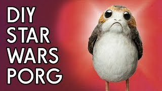 DIY Star Wars: The Last Jedi Porg - Backyard FX