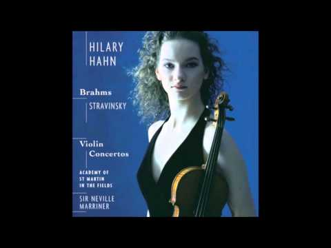 Brahms Violin Concerto, Hilary Hahn