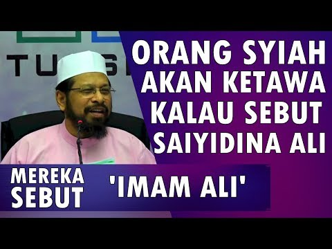 Benarkah Gelar 'Karramallahu Wajhah' dari Syiah? || Maulana Asri Yusoff [Video]