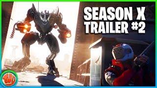Fortnite Season X-Trailer #2!! * FREE * 30 Battle Stars GET!!