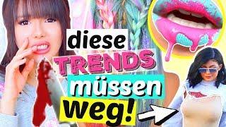 Diese Trends müssen 2018 STERBEN! 😡 | ViktoriaSarina