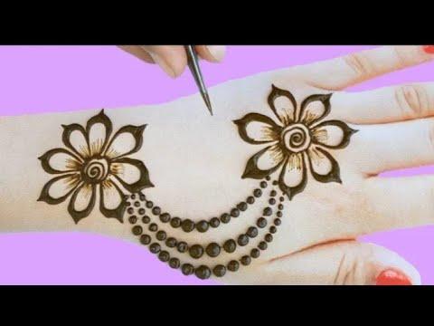 new style mehndi design images