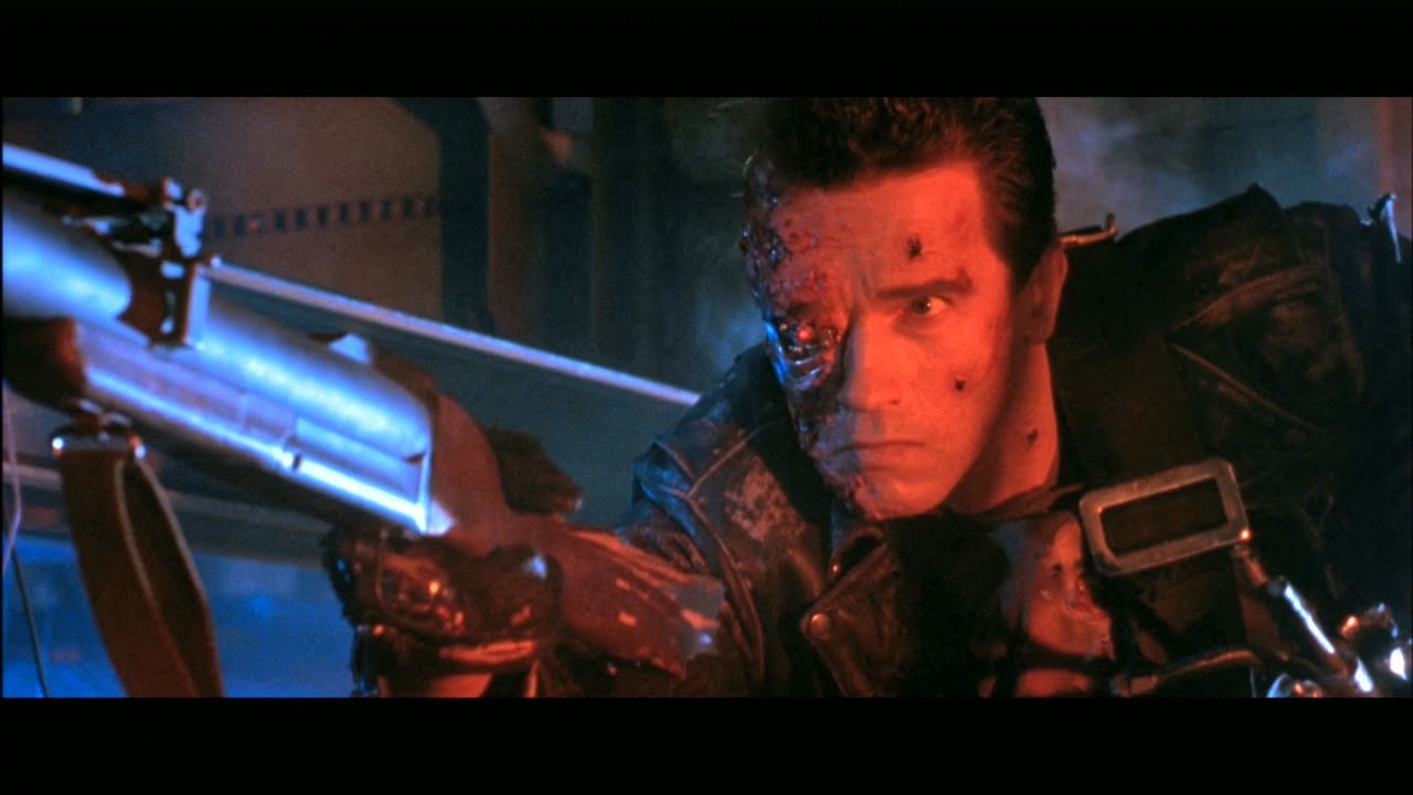 Terminator ターミネーター2 T-1000との決着 - YouTube