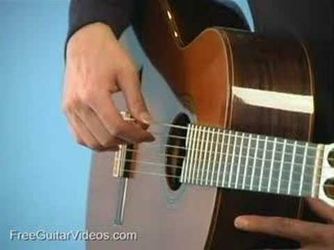 Classical Guitar Lesson: Rest Stroke & Free Stroke