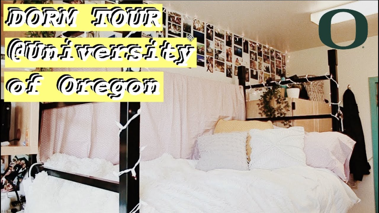 College Dorm Tour! | Sara | University Of Oregon Part 34