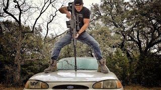 Какой калибр остановит заведенный двигатель машины Разрушительное ранчо Перевод Zёбры