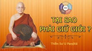 (4) Tại Sao Phải Giữ Giới ?  | Thiền Sư U Paṇḍitā | Khóa Thiền Mùa Xuân 2007
