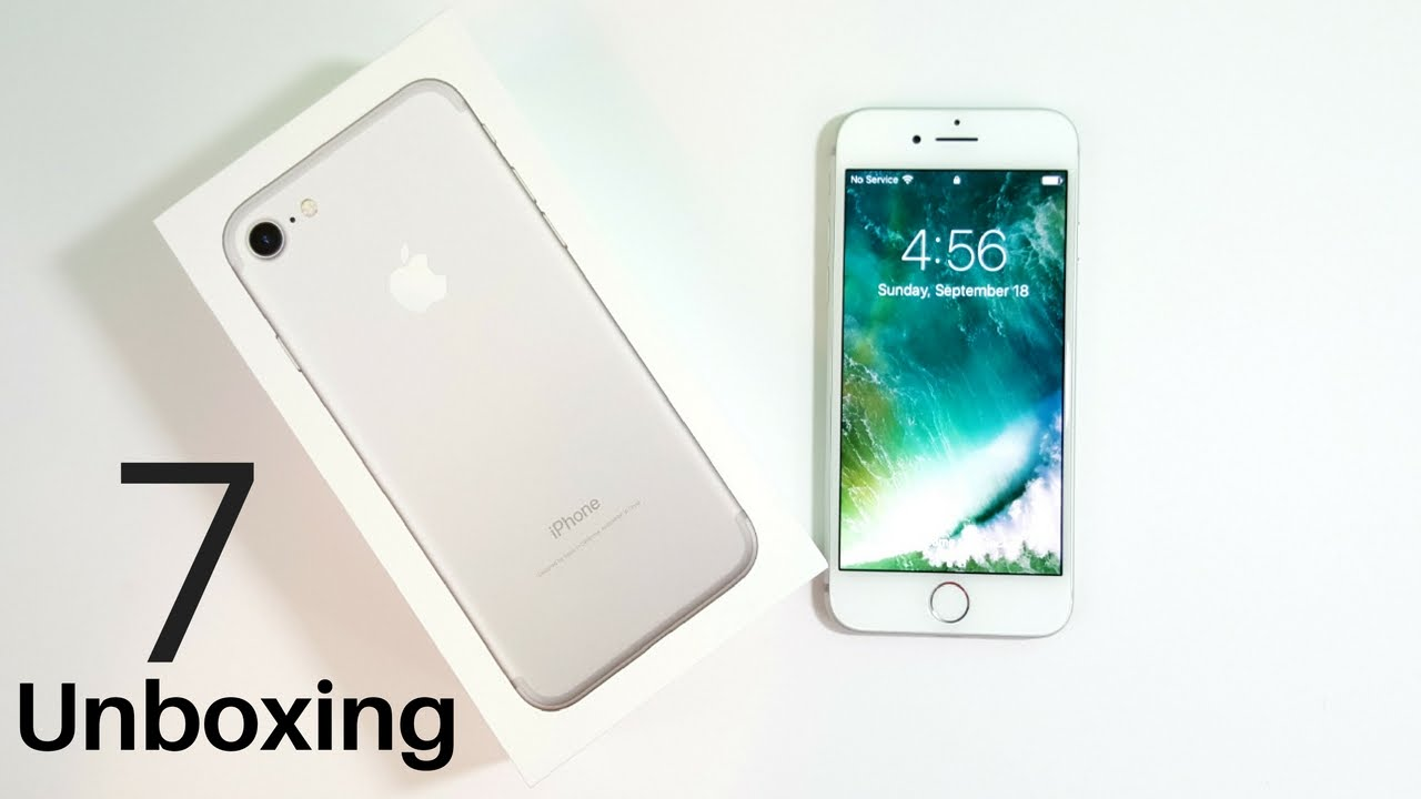 5480cf19f91d85 iPhone 7 Unboxing & First Impressions - YouTube