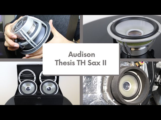 Unboxing The Incredible Audison Thesis SAX II