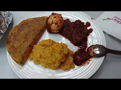 Tasting some Ethiopian food and surprised to get Gujarati food from someone 2019 Nov 24