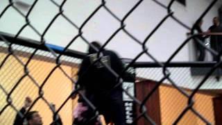 Frances fighting at Sportfight Scotland 13