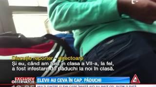Copiii de bani gata, depistati cu paduchi in scolile din Bucuresti