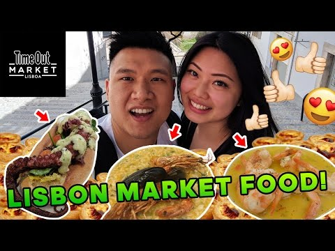 THE BEST FOOD MARKET IN LISBON!
