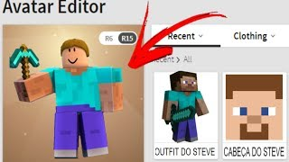 How to TURN STEVE from MINECRAFT into ROBLOX!!! AMAZING