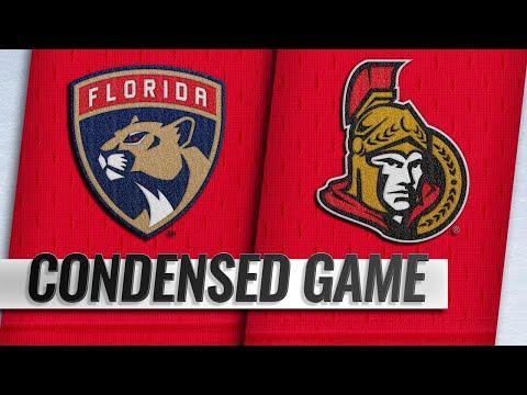 11/19/18 Condensed Game: Panthers @ Senators