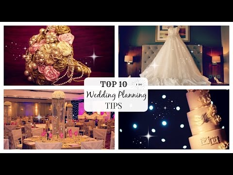 TOP 10 WEDDING PLANNING TIPS EVERY BRIDE NEEDS TO KNOW!