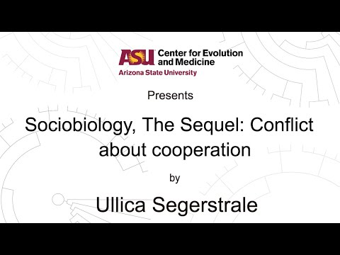 Sociobiology, The Sequel: Conflict about cooperation | Ullica Segerstrale