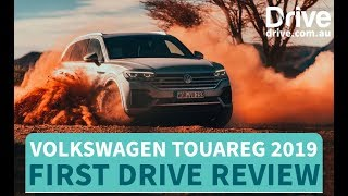 Volkswagen Touareg 2019 First Drive Review | Drive.com.au