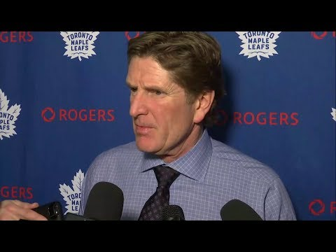 Maple Leafs Post-Game: Mike Babcock - December 29, 2017