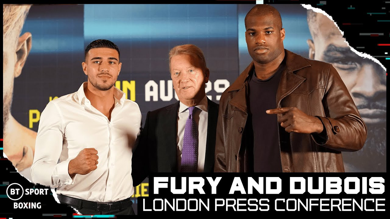 Download Full Press Conference! Tommy Fury And Daniel Dubois Announce Their American Debuts