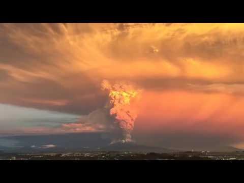 Đại Kỷ Nguyên   Núi lửa phun trào ở Chile Credit  storyful