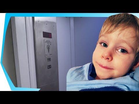 Обзор лифта - выпуск 4. Лифт ЩЛЗ. Baby Go Show в лифте от Щербинского лифтостроительного завода