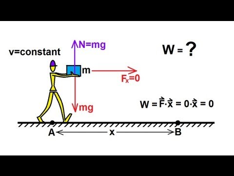 Physics - Mechanics: Work, Energy, and Power (10 of 20) Work Done ...