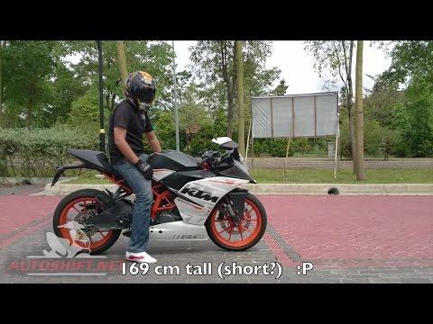 KTM RC390 review