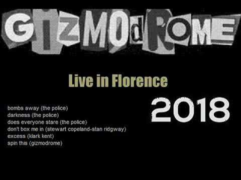 STEWART COPELAND (GIZMODROME) - Live in Florence, IT 02-03-2018 (AUDIO)