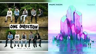 One Direction x Imagine Dragons | Steal My Thunder (Mashup)