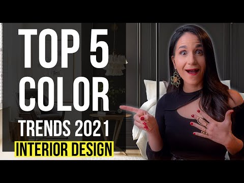 INTERIOR DESIGN COLORS OF THE YEAR 2021 😱 | TOP 5 COLOR TRENDS 2021 | Home Decor Tips & Ideas