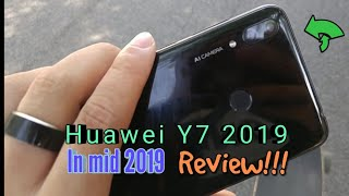 Huawei Y7 2019 in mid 2019 review | Is it worth it?!