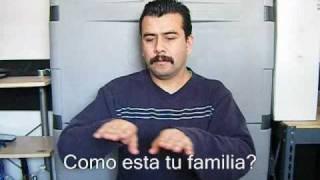 Cómo iniciar una conversación - Lenguaje de señas Mexicano (LSM).