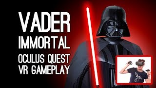 Vader Immortal Gameplay: Let's Play Vader Immortal VR on Oculus Quest - SITH MASTER OF LADDERS