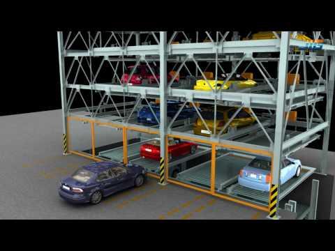mechanical parking system PSH