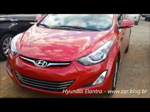 Hyundai Elantra 2016 consumo, desempenho e detalhes www.car.blog.br