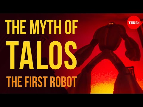 Video image: The Greek myth of Talos, the first robot - Adrienne Mayor