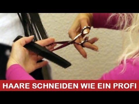 Haare Schneiden Wie Ein Profi I Diy Tutorial Anleitung Youtube