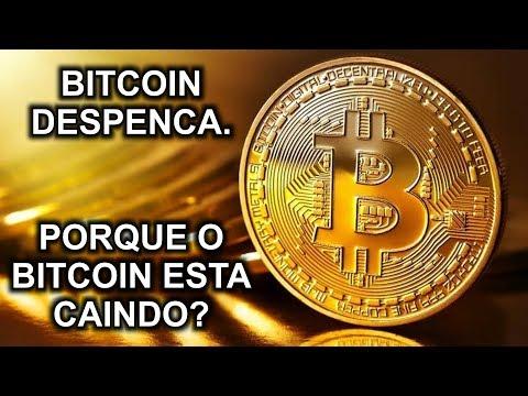 BITCOIN despenca Bitcoin caindo queda do BITCOIN