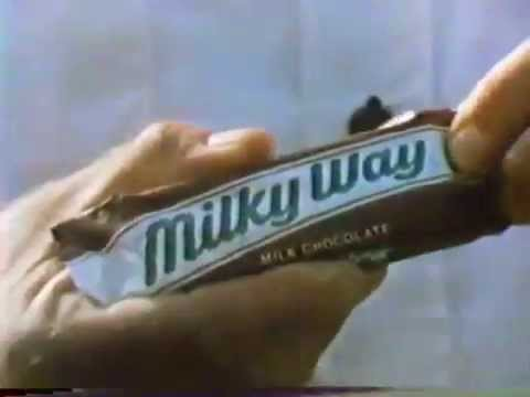 Milky Way Candy Bar 1977 Commercial