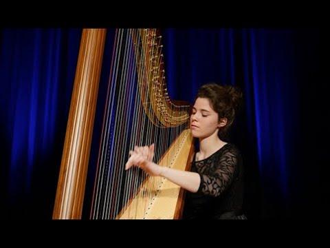 Debussy - Clair de Lune (Harpe) - Héloïse de Jenlis