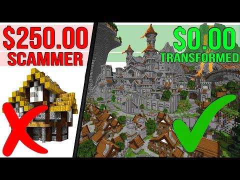 Subscriber Got SCAMMED $250 So I Transformed His Minecraft World!